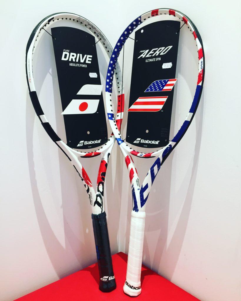 Babolat Pure Aero USA // Babolat Pure Drive Japon